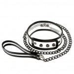 Bare Bondage Vinyl Clear Collar And Leash