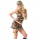 Major Privates Camouflage Dress